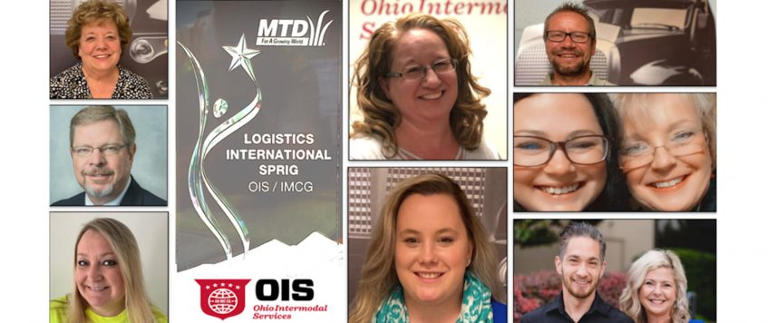 OIS Receives MTD Logistics International Sprig Award